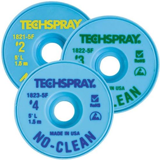 TechSpray Desoldering braid / Solder Wick sold by Howard Electronics