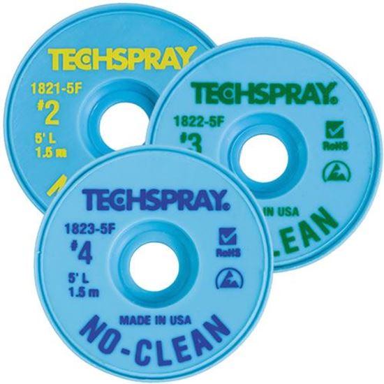 TechSpray Desoldering braid / Solder Wick sold by Howard Electronics