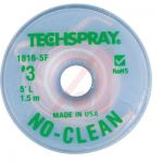 ​TechSpray 1816-5F No-Clean Desoldering Braid / Solder Wick