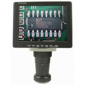 "View Solutions MV02011111 8"" LCD Zoom Inspection Microscope"
