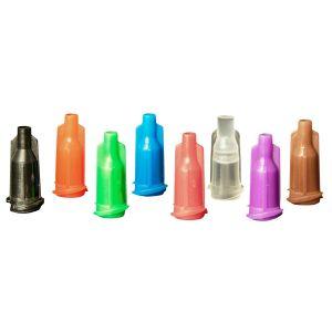 73370a5adfbc JG-TCCX Jensen Global Luer Lock Syringe / Bottle Caps (Clear) 100 per bag