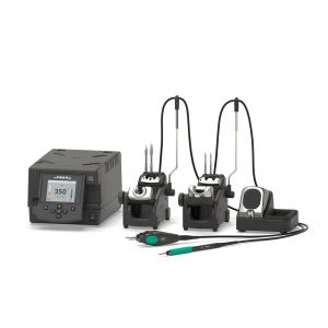 JBC DDPE Digital Dual Soldering Station with Hot Tweezers and T210 Handpiece